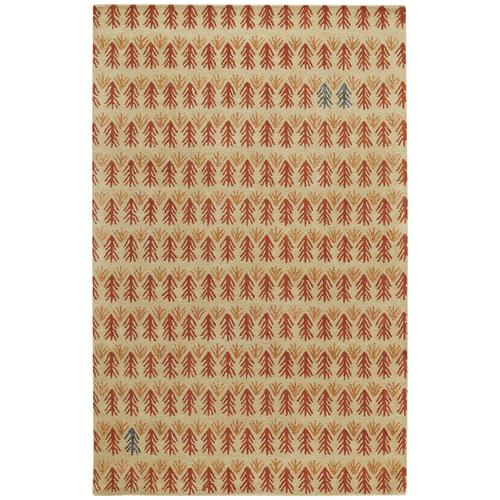 Sticks Ember Hand Tufted Rugs