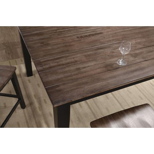5058-57 COUNTER HEIGHT TABLE - BLACK