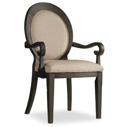 Hooker Furniture - Corsica Oval Back Arm Chair - 2 per carton/price ea