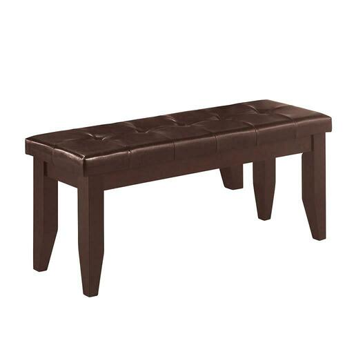 Dalila Cappuccino Dining Bench