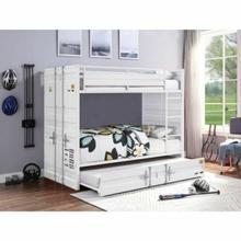 ACME Cargo Bunk Bed (Twin/Twin) - 37880 - White