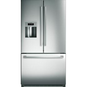800 Series French Door Bottom Mount Refrigerator 36'' Stainless Steel, Easy clean stainless steel B26FT50SNS
