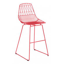 Brody Bar Chair Red (set Of 2)