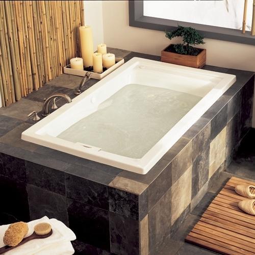 American Standard - Evolution 60x32 inch Deep Soak EverClean Whirlpool - White