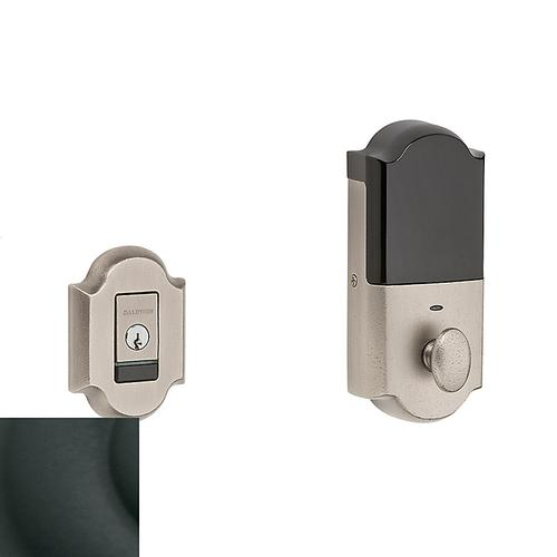 Satin Black Evolved Arched Deadbolt