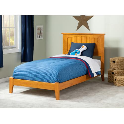 Nantucket Twin XL Bed in Caramel Latte