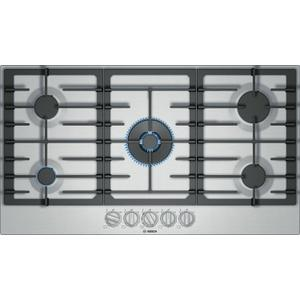 Bosch800 Series Gas Cooktop 36'' Stainless steel NGM8657UC
