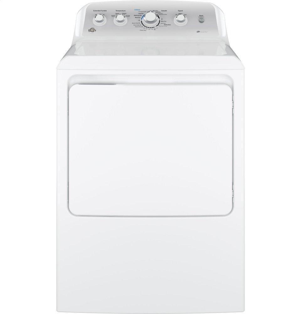 GEGe(r) 7.2 Cu. Ft. Capacity Aluminized Alloy Drum Electric Dryer With Sensor Dry