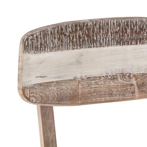 Boardwalk Dining Chair Natural with Upholstered Seat