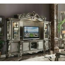 ACME Versailles Entertainment Center - 91820 - Antique Platinum