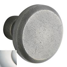 Polished Nickel with Lifetime Finish 5023 Estate Knob