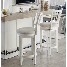 See Details - AMERICANA MODERN DINING Swivel Barstool Spindle back
