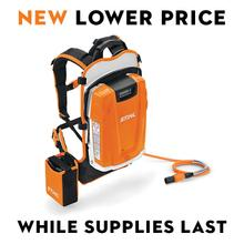 $100 price reduction on this backpack battery that delivers professional landscapers exceptional run times and ergonomic comfort.