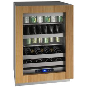 """Hbv524 24"""" Beverage Center With Integrated Frame Finish and Field Reversible Door Swing (115 V/60 Hz Volts /60 Hz Hz)"""