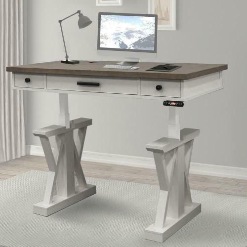 See Details - AMERICANA MODERN - COTTON 56 in. Lift Desk Top & Base Cover