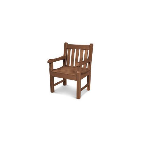 Polywood Furnishings - Rockford Garden Arm Chair in Teak