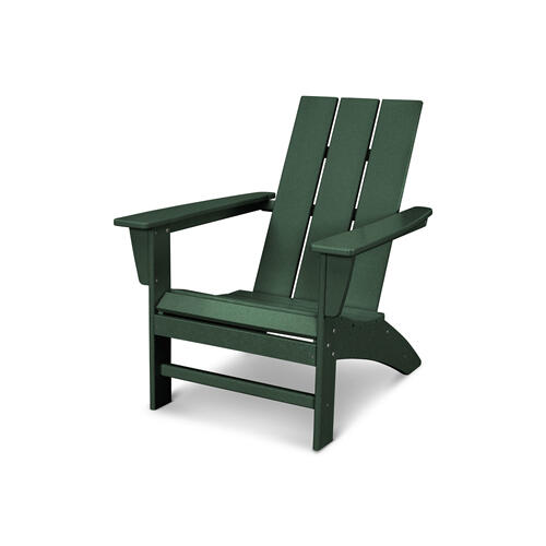 Green Modern Adirondack Chair