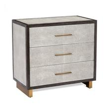 See Details - Maia 3 Drawer Chest - Grey