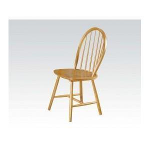 "Acme Furniture Inc - 36""h Oak Windsor Chair"
