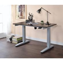 WOOD TOP DESK W/POWER LIFT