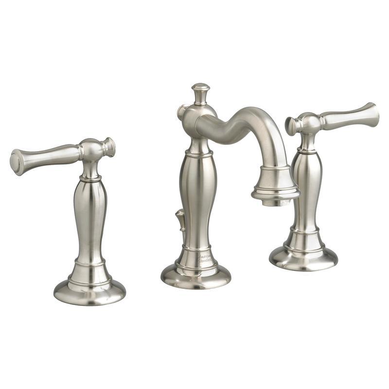 Widespread Bathroom Faucet Brushed Nickel, Bathroom Faucets 8 Inch Spread