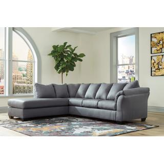 Darcy Steel Sectional Left