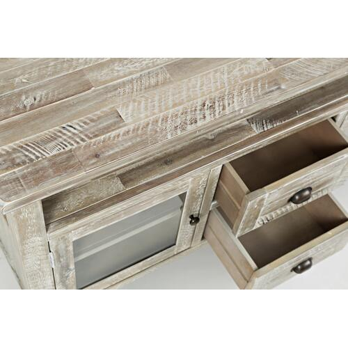 Artisan's Craft Storage Console - Washed Grey