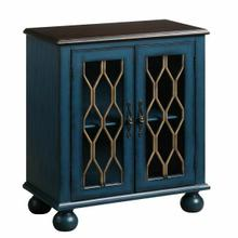 ACME Lassie Console Table, Antique Blue Finish - AC00195