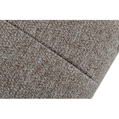VIG Furniture - David Ferrari Natura - Italian Modern Light Taupe Fabric Sectional Sofa with Manual Recliner