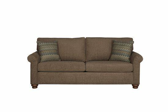 Sofa - Shown in 111-14 Mocha Chenille Finish