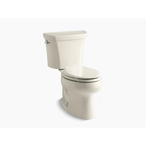 Kohler - Almond Two-piece Elongated Dual-flush Toilet