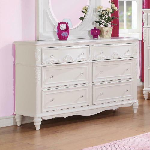 Coaster - Caroline White Dresser