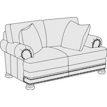 Foster Loveseat in Molasses (780)