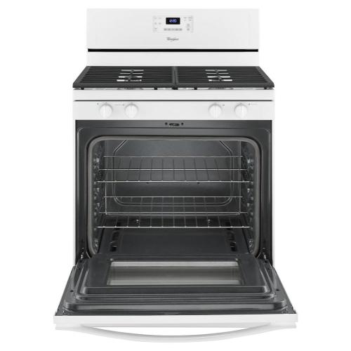 Whirlpool - 5.0 Cu. Ft. Freestanding Gas Range with AccuBake® Temperature Management System