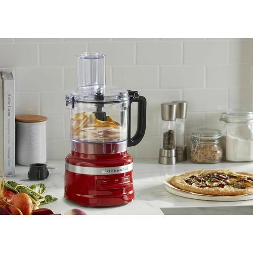 KitchenAid - 7 Cup Food Processor - Empire Red
