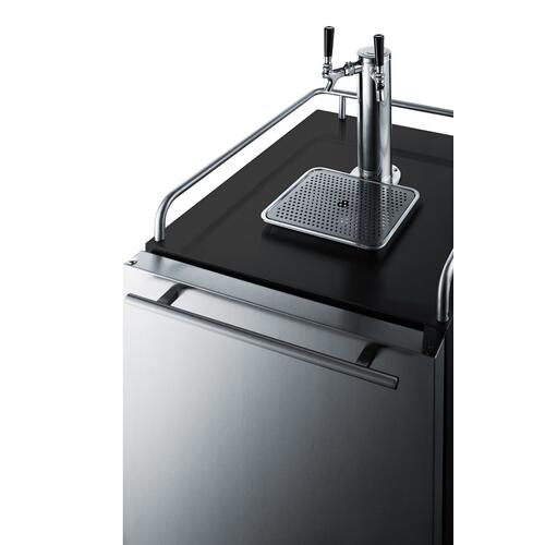 "24"" Wide Built-in Kegerator"