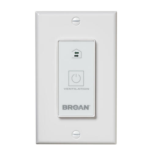 Broan - Broan® Fresh In™ Wall Control ON/OFF
