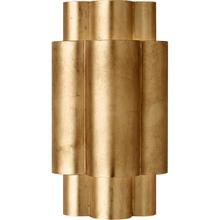 AERIN Arabelle 2 Light 8 inch Gild Sconce Wall Light, Medium