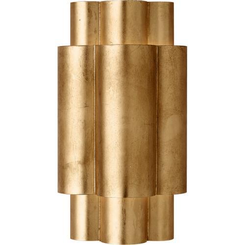 AERIN Arabelle 2 Light 8 inch Gild Sconce Wall Light, Medium