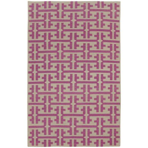 The Greek Dark Blush - Rectangle - 5' x 8'