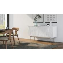 See Details - Tanami 7107 Storage Credenza in Smooth Satin White
