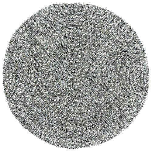 "Sea Glass Smoky Quartz - Oval - 20"" x 30"""