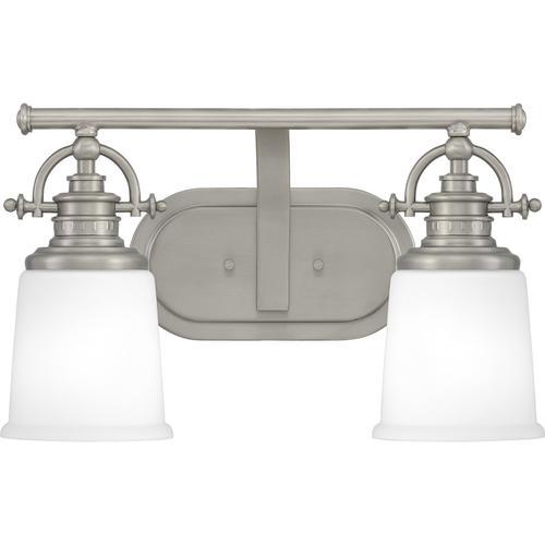 Quoizel - Grant Bath Light in Antique Nickel