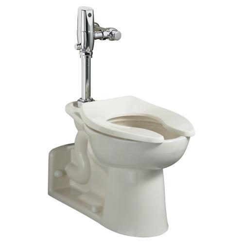 American Standard - Priolo 1.1-1.6 gpf ADA EverClean Universal Flushometer Toilet - White