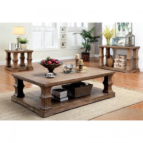Gallery - Granard Coffee Table W/ Wooden Top