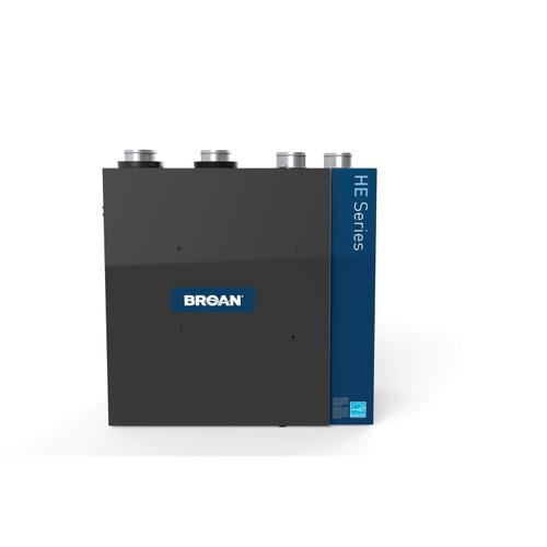 Broan® HE Series High Efficiency Heat Recovery Ventilator, 226 CFM at 0.4 in. w.g.