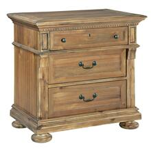 2-3363 Wellington Hall Three Drawer Night Stand