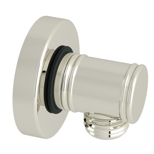 Polished Nickel Baltera Handshower Wall Outlet