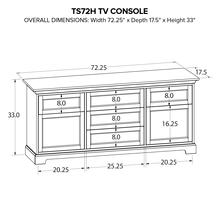 Howard Miller Custom TV Console TS72H