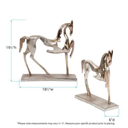 Howard Elliott - Aluminum Horse Sculpture